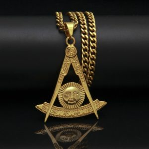Masonic Pendants Necklace