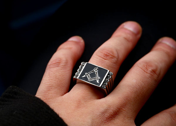 Hot Selling Freemason Signet Ring