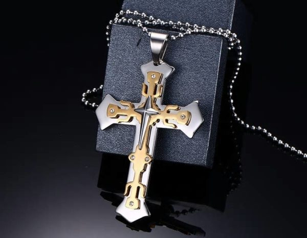 Titanium Knights Templar Necklace