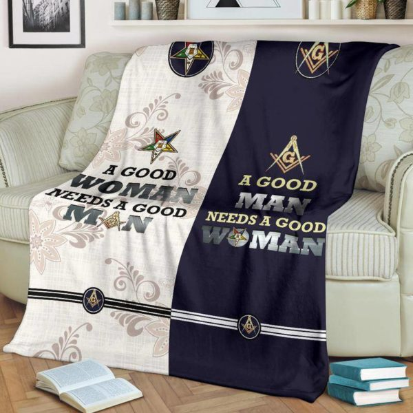 Freemason & OES Fleece Blanket